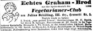 Inserat aus: Neue Freie Presse, 6.7.1879: 11